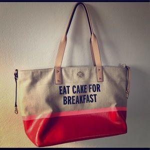 Kate Spade Eat Cake for Breakfast tote bag